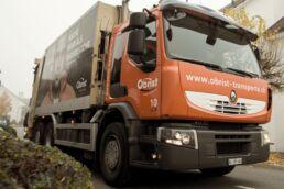 Mit dem bewährten Transport- und Behältersystem von Obrist werden Ihre Industrieabfälle schnell und umweltschonend entsorgt.